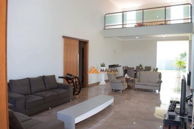 Casa residencial à venda, condomínio residencial ana carolina, cravinhos. - Foto 5