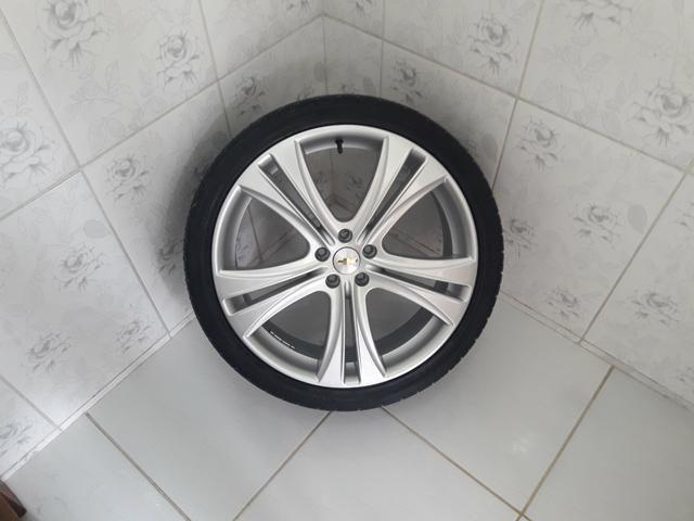 Rodas aro 20 com pneus + molas esportivas do Cruze