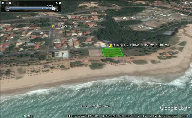 Terreno à beira mar 44x34 em guaxuma - Foto 3