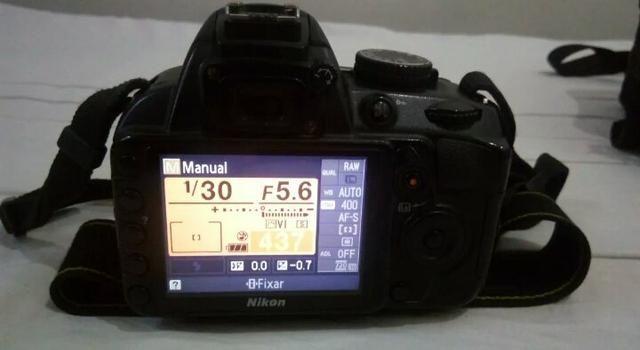 Nikon d3100+Bolsa/2cartoes/2 baterias