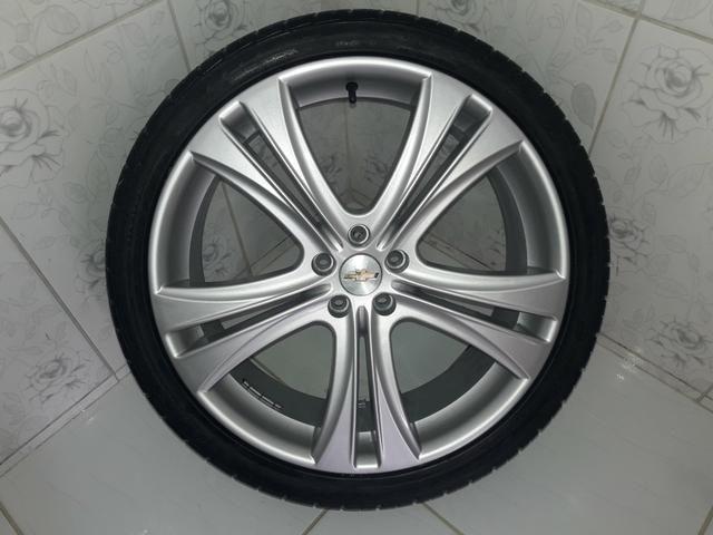 Rodas aro 20 com pneus + molas esportivas do Cruze - Foto 10