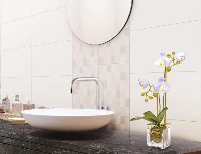 Revestimento Branco Liso R$ 22,90m² Extra > Casa Nur - O Outlet do Acabamento - Foto 2