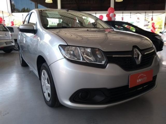 Renault Logan Authentique Flex 1.0 12V 4p - Foto 3