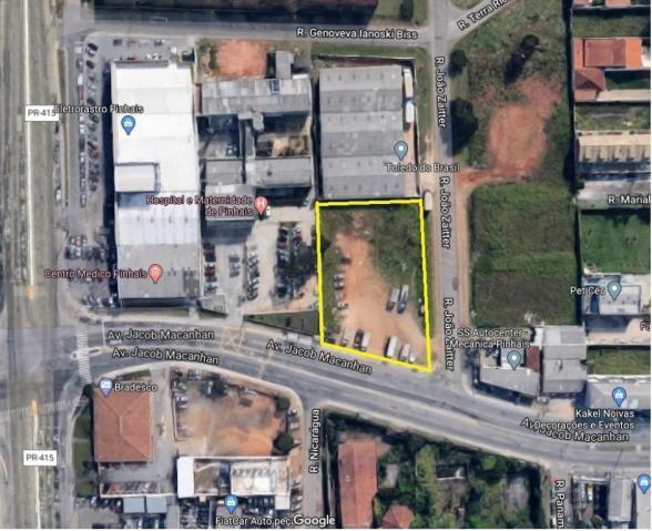 Terreno para alugar no Centro - Pinhais/PR - Foto 2