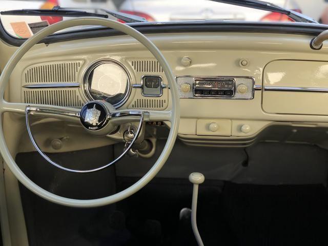 Vw fusca 1300 placa preta 1969 - Foto 6