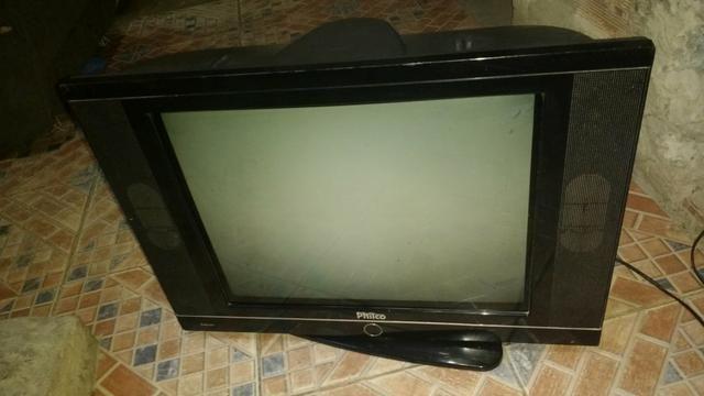 Tv Philco slim 21 polegada tela plana funcionando perfeitamente