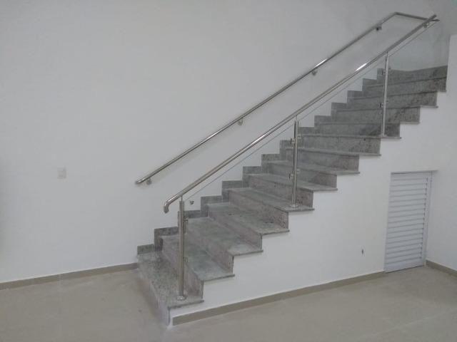 Corrimão. Guarda corpo .Escadas Todos os modelos e projetos predios ou casas - Foto 4