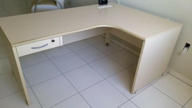 Mesa de escritório e arquivo para pastas suspensas - Foto 2