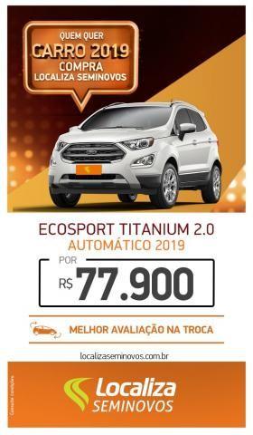 ECOSPORT 2018/2019 2.0 DIRECT FLEX TITANIUM AUTOMÁTICO - Foto 9