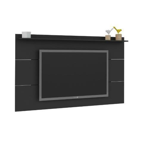 Slim cor preto Painel para tv   Pague em ate 10x s juros - Foto 3