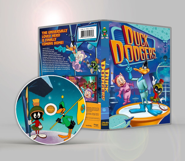 Dvd Duck Dodgers Completo