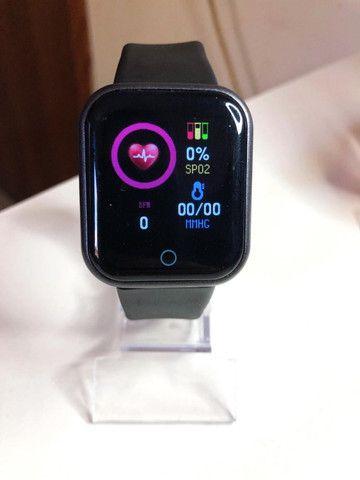 Smartwatch D20 Pro que coloca foto na promoção - Foto 5