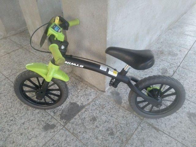 Bicicleta sem pedal Infantil - Foto 2