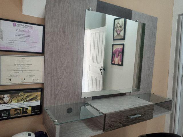 Bancada com espelho - Foto 2