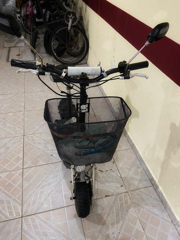 Vendo Patinete Elétrico Scooter Two Dogs 1000w - Foto 3