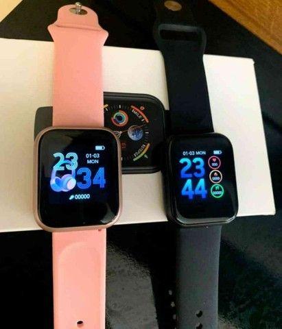 Relógio Smartwatch ThinFit W8 Android e Ios com 2 Pulseiras - Foto 5