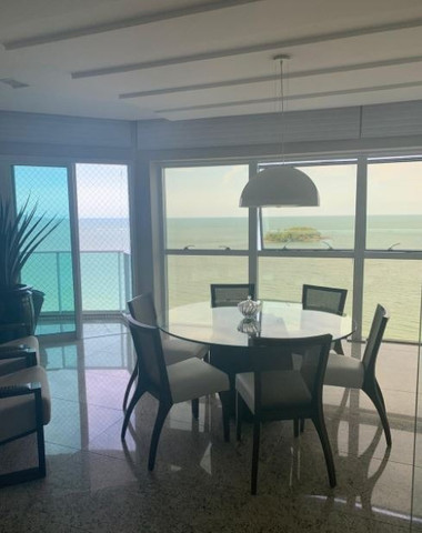 Apartamento espetacular frente mar, com 3 suítes, na Av. Atlântica, centro Bal. Camboriu - Foto 2