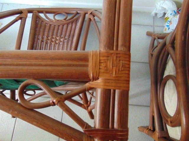 Poltrona especial em madeira trabalhada - Foto 6