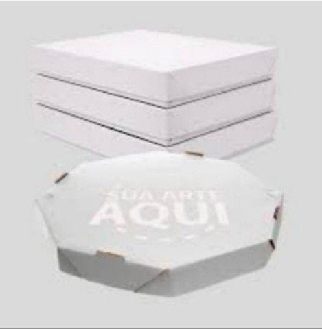 Caixas  para pizza esfihas salgados e bolos  - Foto 2