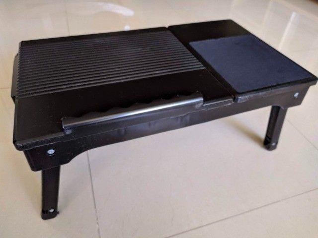 Mesa para Notebook com Luminária Led e Hub Usb - Foto 3