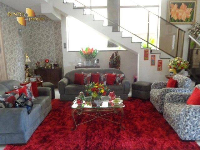 Casa com 5 dormitórios à venda, 490 m² por R$ 2.200.000,00 - Condomínio Florais Cuiabá Res - Foto 2