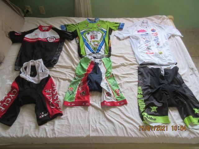 Roupas de ciclismo , tamanho G-M-P boa qualidade - Foto 4