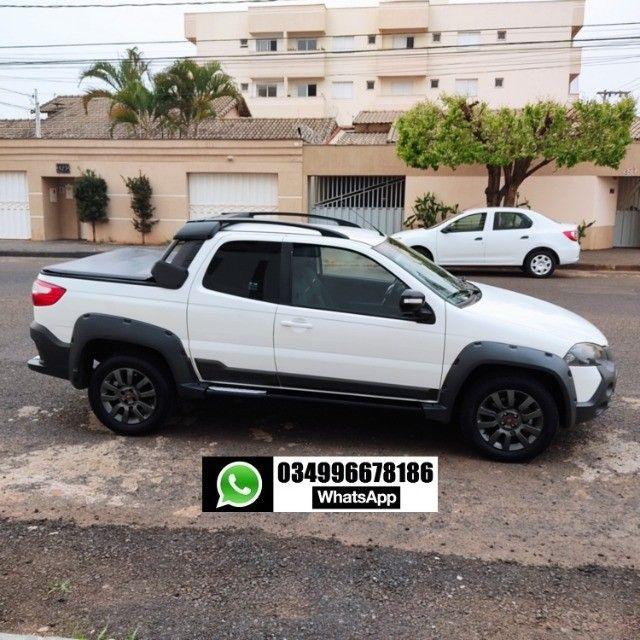 Strada Adventure Cabine Dupla (CD) 2018 Uberlândia MG - Foto 5