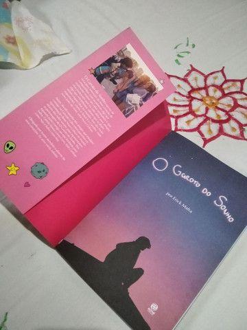 Livro O Garoto do Sonho Autografado  - Foto 2