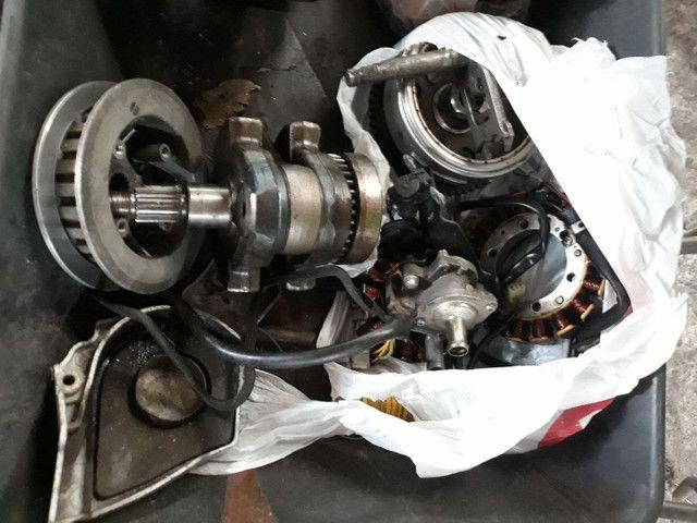 Motor Honda XR 250 Tornado , desmontado com procedência, sem o cabeçote ! - Foto 5