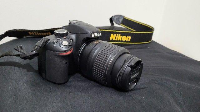 Câmera Nikon D3200 + Lente, MENOS DE 3 MIL CLIQUES! - Foto 2