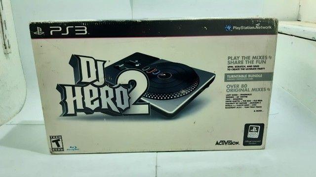 Jogo DJ Hero 2 Na Caixa com Mesa - Foto 2