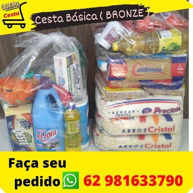 Cesta Basica 3 Modelos Ouro / Prata / Bronza - Foto 3