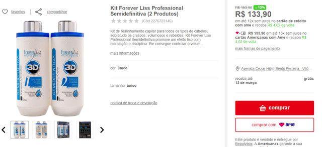 Kit Forever Liss Professional Semidefinitiva (2 Produtos) - Foto 2