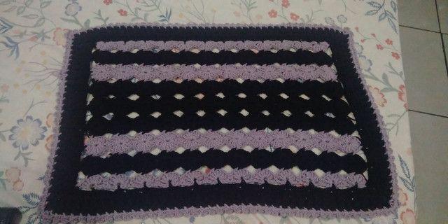 Super promoção de tapetes em crochê - Foto 5