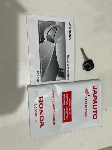 Honda POP 110i 2020 Estado de zero (800km) Aceito trocas parcelo cartão financio  - Foto 15