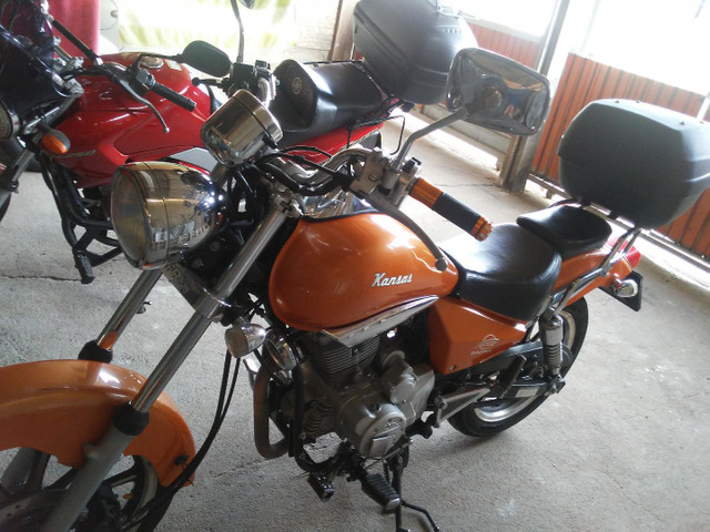 Vendo moto kansas - Foto 3