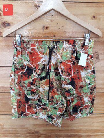 Shorts mauricinho estampados Tactel  - Foto 5