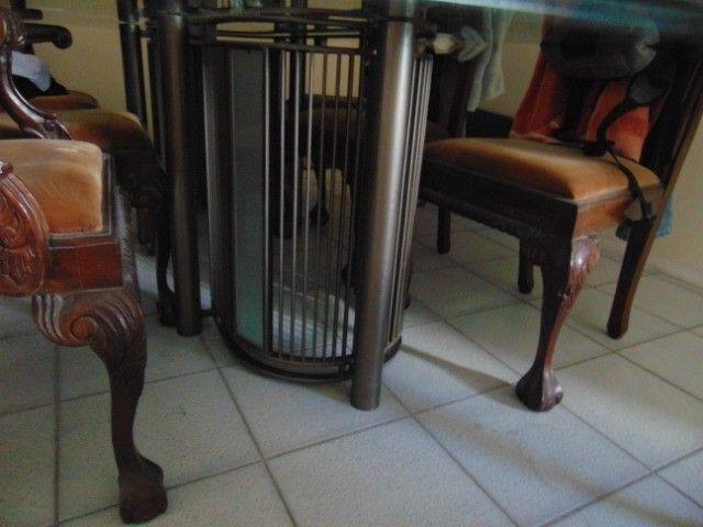 Mesa com tampo de vidro temperado  - Foto 2