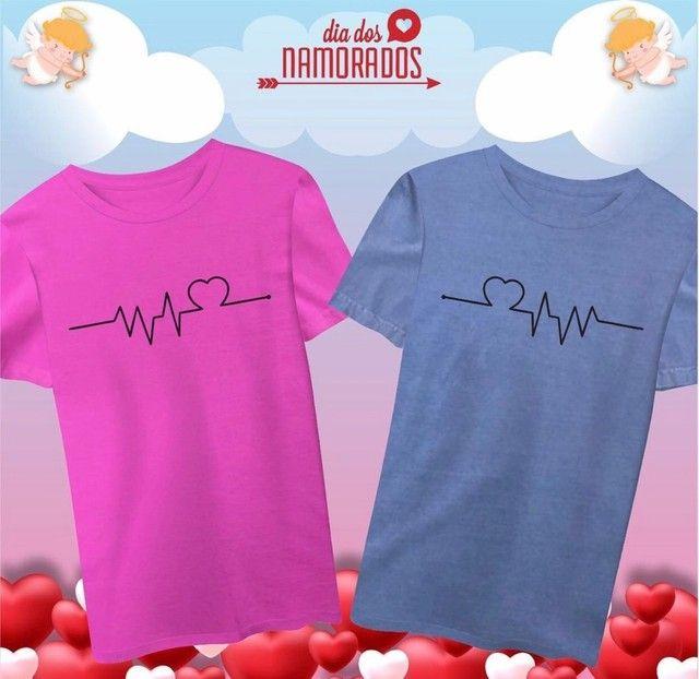 T-shirts Casal Dia dos Namorados - Foto 5