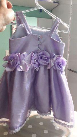 Vestido menina 2 anos  - Foto 2