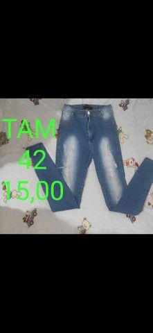Calças jeans desapego - Foto 3