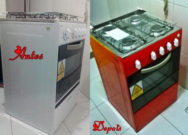 Envelopamento de fogão - Foto 5
