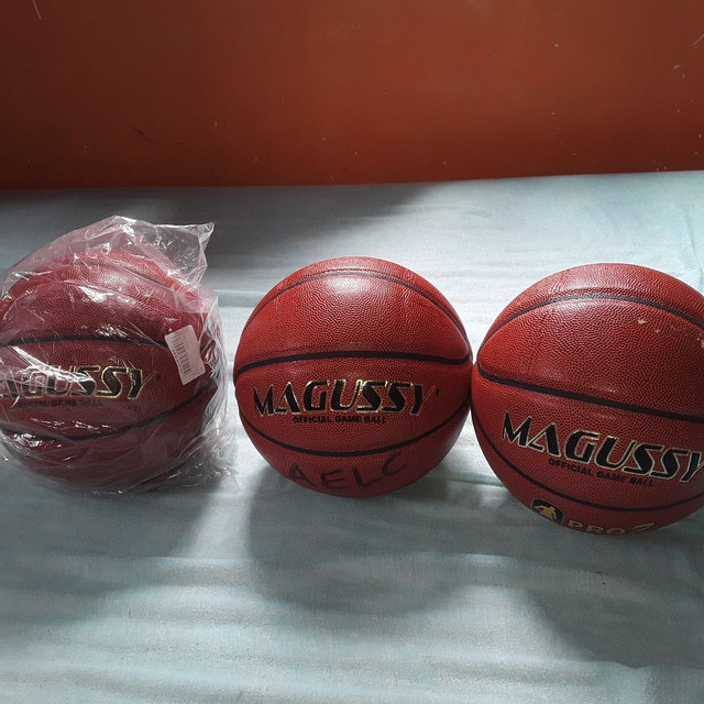 Estou vendendo essas bolas de basquete