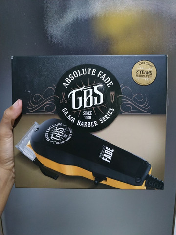 Máquina de Cortar Cabelo Profissional GBS Absolute Fade