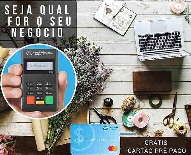 Maquininha Point Mini - A Máquina De Cartão Do Mercado Pago<br><br> - Foto 3