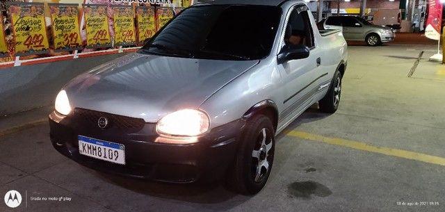 Chevrolet Corsa picape 2000 1.6 - Foto 4