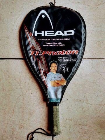 Raquete tênis Wilson Head - 19 fios - Foto 4