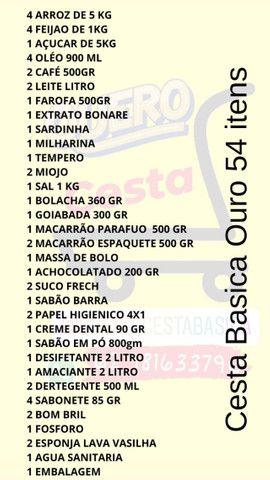 Cesta Basica 3 Modelos Ouro / Prata / Bronza - Foto 5