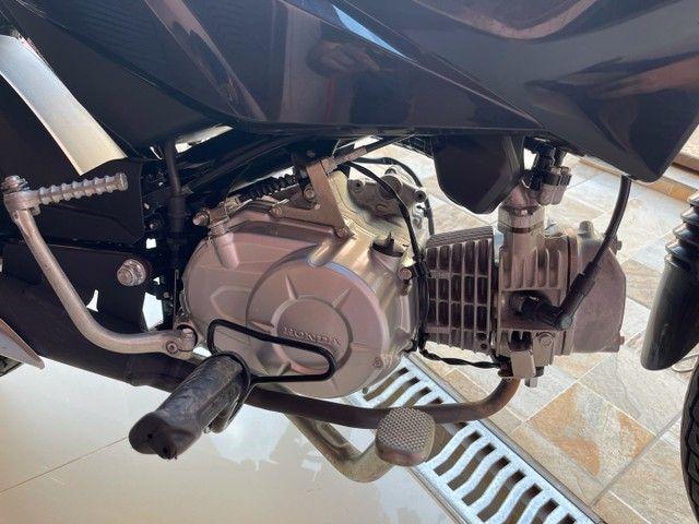 Honda POP 110i 2020 Estado de zero (800km) Aceito trocas parcelo cartão financio  - Foto 9