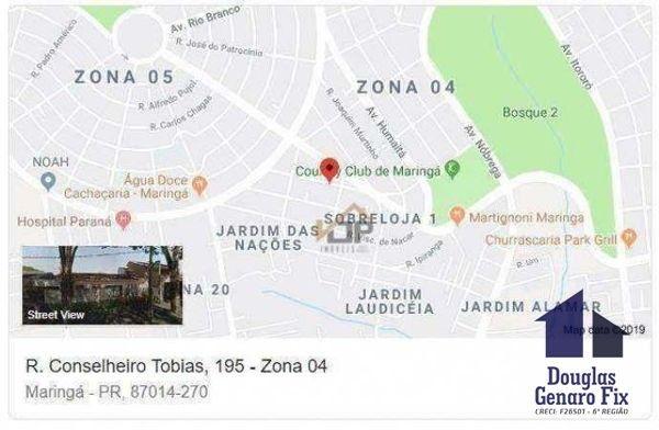 Casa com 2 quartos - Bairro Zona 04 em Maringá - Foto 4